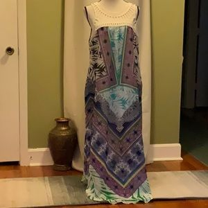 New Direction scoop neck maxi dress size XL lined